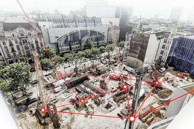 Digital data management on the construction site